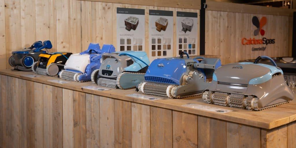 Zwembadrobot kopen? Ruim assortiment zwembad robots - Rhodos.nl