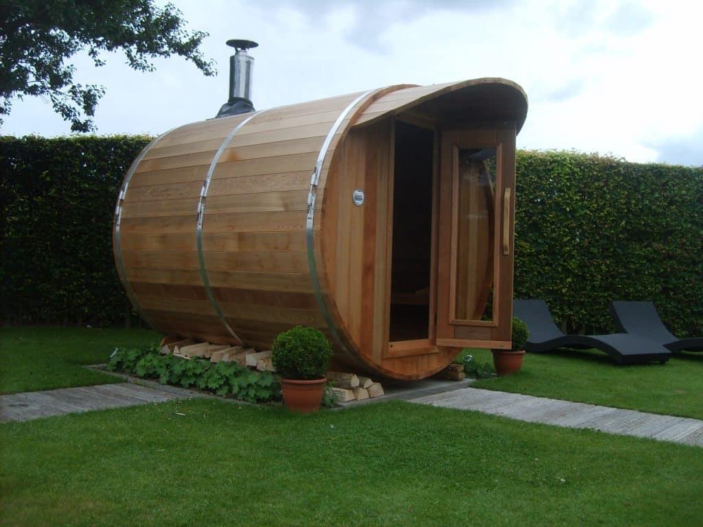 Barrel sauna kopen voor in de tuin - Rhodos.nl