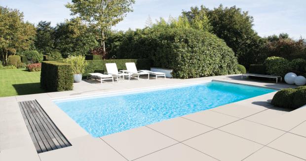 Infinit'eau zwembad door Rhodos - Rhodos.nl
