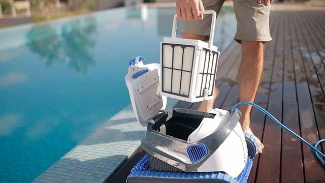 filter zwembadrobot