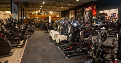 Fitnessapparaten in onze winkel testen - Rhodos.nl